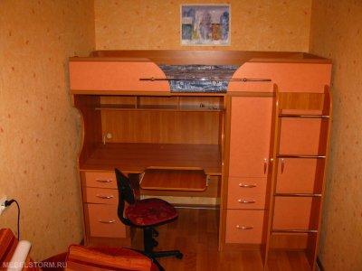 Детский уголок с кроватью и столом фото цена